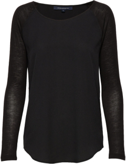Polly Plains Ls T-shirts & Tops Long-sleeved Svart French Connection