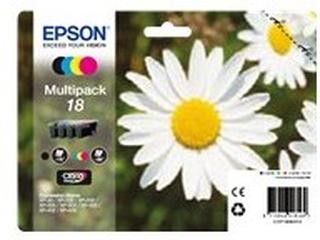 Bläckpatron EPSON 18 svart och färg