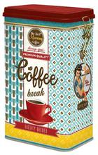 Kaffeburk coffeebreak turkos