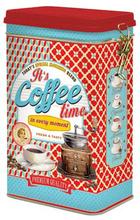 Kaffeburk moment röd