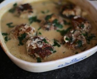 recipe: zapiekanka makaronowa z mięsem mielonym i pieczarkami [22]