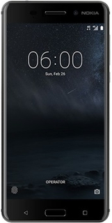 Nokia 6 Dual SIM - 32GB - Mattsvart