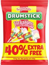 Swizzels Drumstick Lickables 154 g