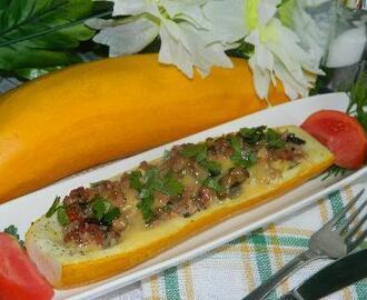 recipe: zapiekanka makaronowa z mięsem mielonym i pieczarkami [32]