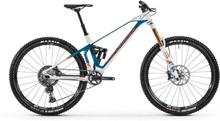 "Mondraker Superfoxy Carbon R white/petrol/fox orange M | 42cm (29"") 2020 Heldämpade MTB 29"""
