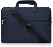 """Laptopväska 13.3"""" med axelrem - mörkblå"""