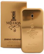 Paco Rabanne 1 Million Edt 50 ml Parfyme Transparent