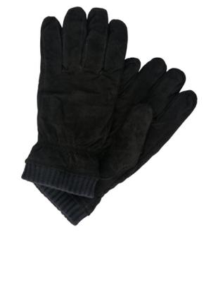 d9717a874 JACK & JONES Suede Gloves Men Black - Men's suede gloves, Fleece inside for  high comfort - Men's suede gloves. Fleece inside for high comfort. ...