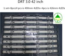 "8pcs/Lot LED Replacement led backlights for 42"" LG 42LB5500 42LB5610 42LB570V LC420DUE FG 4 A+ 4 B 100%NEW Aluminum substrate"