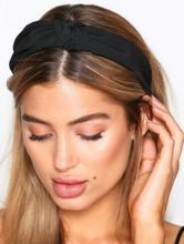 NLY Accessories Scarf Hairband Håraccessoarer Svart