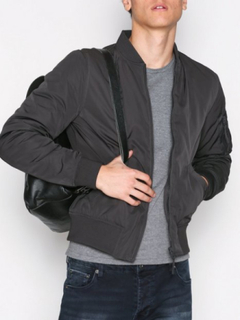 New Look New MA1 Bomber Jackor Charcoal