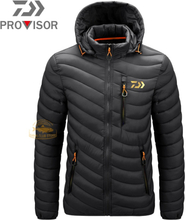 Winter DAIWA Fishing Clothes Men's New Waterproof Fishing Down Jacket for Outdoor Cycling Windproof Clothes Warm Fishing Jacket