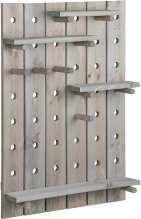 Esschert Design Håltavla grå NG78