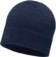 Buff Lightweight Merino Wool Hat Unisex luer Blå OneSize