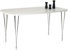 Lucian matbord 138 cm - Vit