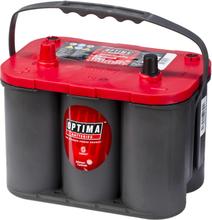 Optima Batteri i Rød Top 12 V 50 Ah RT S-4.2