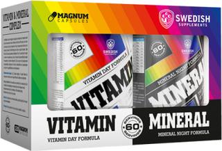 Vitamin & Mineral Complex, 2 x 60 Magnum Capsules