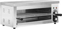 vidaXL elektrisk salamandergrill 2500 W rustfrit stål