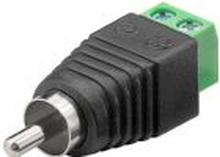 RCA hane - 2 pin terminal block