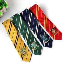 145cm(57inch) Hogwart School Gryffindo/Slytherin Potter Hermione Ron Tie College Style Cosplay Costume Necktie