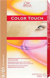 Wella Professionals Care Pure Naturals Color Touch 9/01, 9/01 Pure Naturals Cool Ash Wella Toning