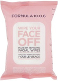 Formula 10.0.6 Wipe Your Face Off Make-Up Wipes, 2