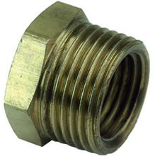 Ezze 3006074982 Metallbussning utv- inv gänga G8 x G6, mässing