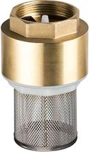 Gelia 30050150-serien Bottenventil metall, med silkorg