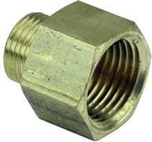 Ezze 3006081012 Metallnippel in- utv gänga G15 x G10, mässing