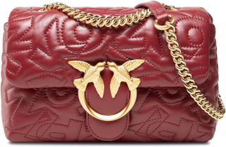 Handväska PINKO - Love Mini Puff Pinko Puff Cl. AL 21-22 PLTT 1P22C0 Y7GW Dark Red R44