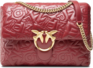 Handväska PINKO - Love Pig Puff Pinko Puff Cl. AI 21-22 PLTT 1P22BY Y7GW Dark Red