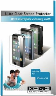 Skjermbeskyttelse König for iPhone 4 och 4S