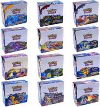 324Pcs/Box 15 Style Pokemon Card Sun & Moon Hidden Fates English Evolutions Booster Collectible Trading Card Game Children Toy