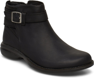 Andover Bluff Wp Shoes Boots Ankle Boots Ankle Boots Flat Heel Sort Merrell