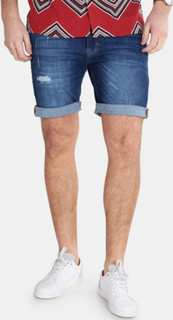 Just Junkies Mike Shorts Collect Blue