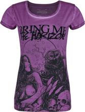 Bring Me The Horizon - EMP Signature Collection -T-skjorte - lilla