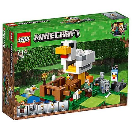 LEGO Minecraft 21140 kylling Coop - Fruugo