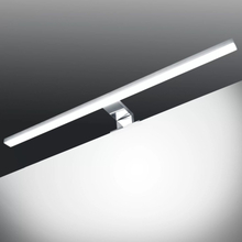 vidaXL Spegellampa 8 W kallvitt