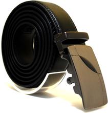 Läderbälte stripe svart 1000