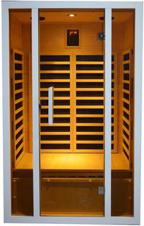 MaXXwell Zagros 1750 W Infrarød Sauna til 2 personer