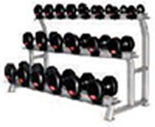 Titan Fitness Titan (10sæt) Håndvægtstativ 3 Rækker