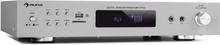 AMP-9200 BT digital-stereo-förstärkare 2x60W RMS BT 2xmikrofon silver