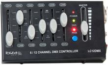 IBIZA 12 kanal dmx kontroll