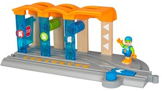 BRIO BRIO World - 33874 Smart Tech tågtvättstation