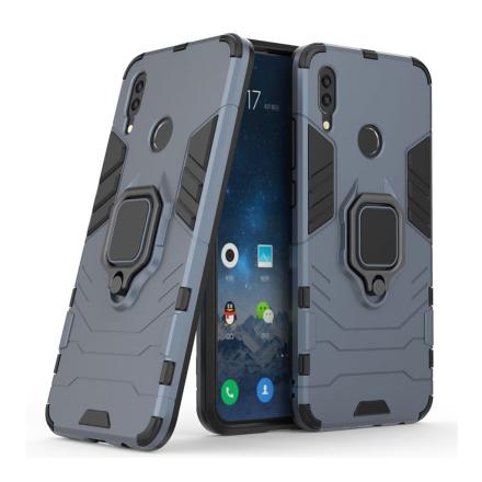 Huawei P Smart 2019 cool guard kickstand hybrid case - Blue