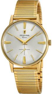 -Extra F20251-1 Festina klocka - Festina klocka Milanese gyllene ma...