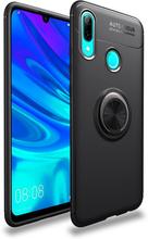 Huawei P Smart 2019 Kickstand Etui Med Metallring - Svart