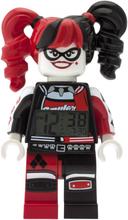 THE LEGO® BATMAN MOVIE Harley Quinn™ Minifiguren-Uhr mit Wecker