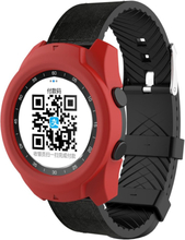 Ticwatch Pro soft silicone frame case - Red