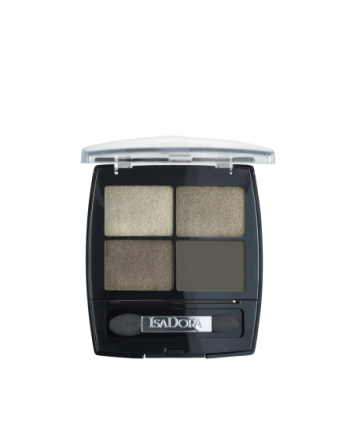Isadora Eyeshadow Quartet Urban Green